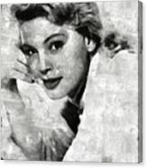 Betsy Palmer Vintage Hollywood Actress Canvas Print