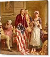 Betsy Ross 1777 Canvas Print