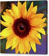 Betsy's Sunflower Canvas Print