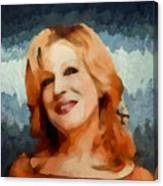 Bette Midler Collection - 1 Canvas Print