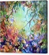 Bettie's Backyard Canvas Print