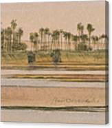 Between Derr And Ibreem Canvas Print