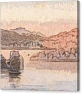 Between Kalabshee And Tafa Canvas Print