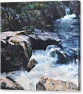 Betws-y-coed Waterfall Canvas Print