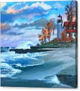 Betzie Lighthouse Canvas Print