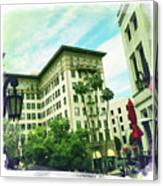Beverly Hills Rodeo Drive 3 Canvas Print