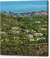 Beverly Park Beverly Hills Panorama Canvas Print