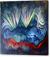 Beware The Hollow Man Canvas Print