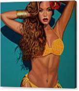 Beyonce 2 Canvas Print