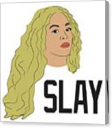 Beyonce Canvas Print