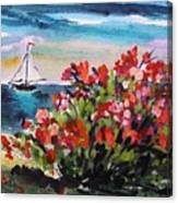 Beyond Sea Roses Canvas Print