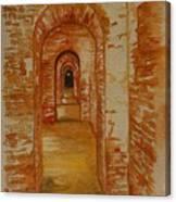 Beyond The Black Door Canvas Print