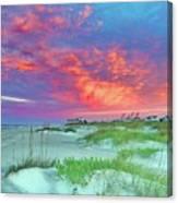 Beyond The Dunes Canvas Print