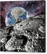 Beyond The Moon Canvas Print