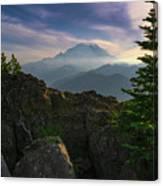 Beyond The Ridge Canvas Print