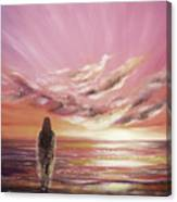 Beyond The Sunset Canvas Print