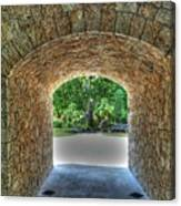 Beyond The Tunnel Canvas Print