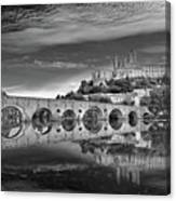 Beziers Cathedral Canvas Print