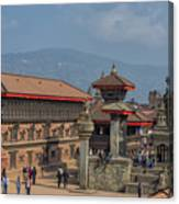Bhaktapur Durbar Square In Kathmandu Valley, Nepal Canvas Print