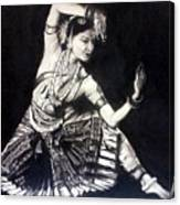 Bharatnatyam Canvas Print