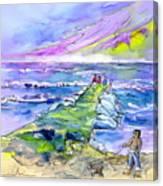 Biarritz 20 Canvas Print