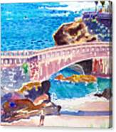 Biarritz Canvas Print