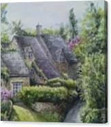 Bibury Village Canvas Print