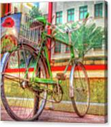 Bicycle Art Canvas Print