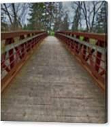 Bicycle Bridge - Niagara On The Lake Canvas Print