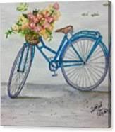 Bicycle I Canvas Print