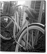 Bicycle In The Sun Canvas Print