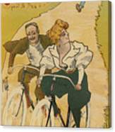 Bicycle Poster, 1895 Canvas Print