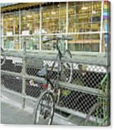 Bicycle Rack Canvas Print