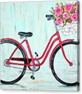 Bicycle Spring Break Canvas Print