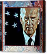 Biden Canvas Print