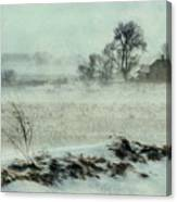 Biding The Storm Canvas Print