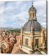 Bierdview Of Historic City Of Salamanca Canvas Print