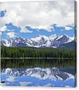 Bierstadt Lake Panorama Canvas Print