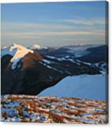 Bieszczady Mountains Poland Canvas Print