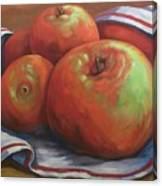 Big Apples Canvas Print