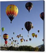 Big Balloons Canvas Print