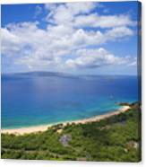 Big Beach Aerial Canvas Print