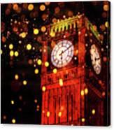 Big Ben Aglow Canvas Print