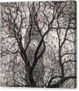 Big Ben From The Square Canvas Print