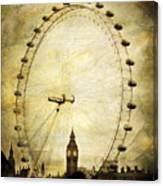 Big Ben In The London Eye Canvas Print