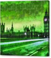 Big Ben London - Da Canvas Print