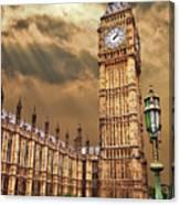 Big Ben's House Canvas Print