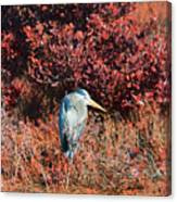 Big Blue V2 Canvas Print