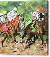 Big Brown Derby Canvas Print