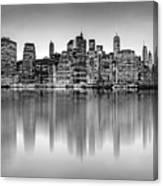 Big City Reflections Canvas Print
